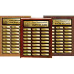 Recognition Perpetual Plaques